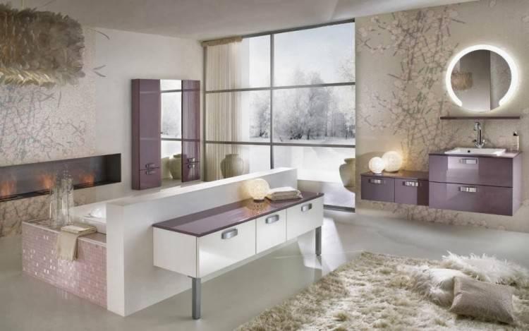 Moderne Avec Accessoire Salle De Bain Romantique Idees Et Set De