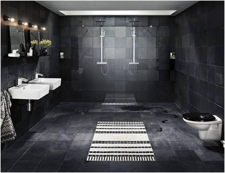 Moderne Le stunning decoration salle de bain noir et blanc pictures