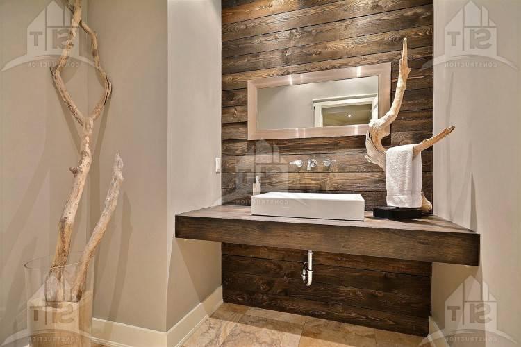 salle de bain en pierre naturelle 55 idaces modernes et sophistiquaces bois  bleue galets la id