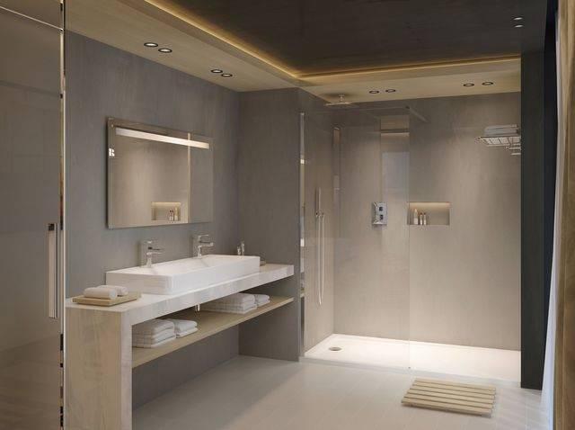 Gallery of Petite Salle De Bain 49 Id Es D Am Nagement Fonctionnel Et Confortable Avec Petite Salle De Bain Optimisation Espace Et Petite Douche Italienne
