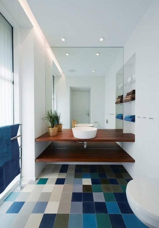 Salle De Bain Moderne Grise Salle De Bain Gris Anthracite Et Bois Maison Design Apsip Com
