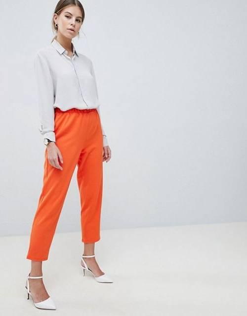 Mode Femme Orange SINEQUANONE Prédominant Boléro En Jersey Viscose