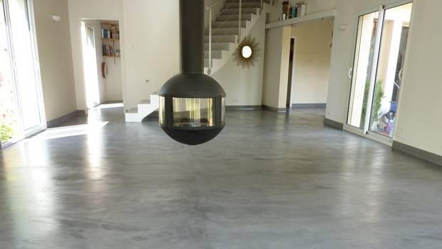 Ajouter Une Galerie Photo Meuble Salle De Bain Beton Cire Design Moderne