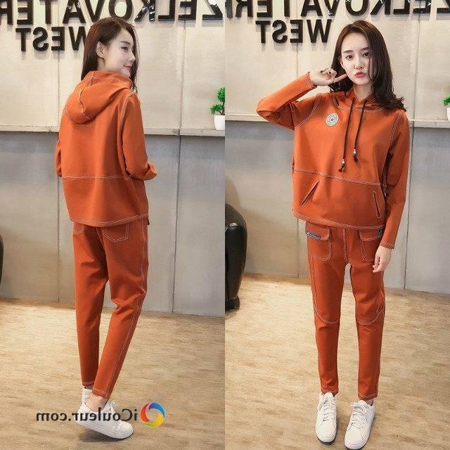 03070824 Pantalon Femme Orange foncé Meilleure vente de mode Orange foncé  6978232 CQDBWSD