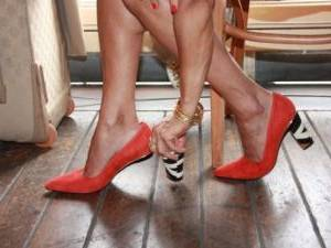C'est aussi une manière de personnaliser ses chaussures (une autre idée  pour personnaliser vos chaussures?)