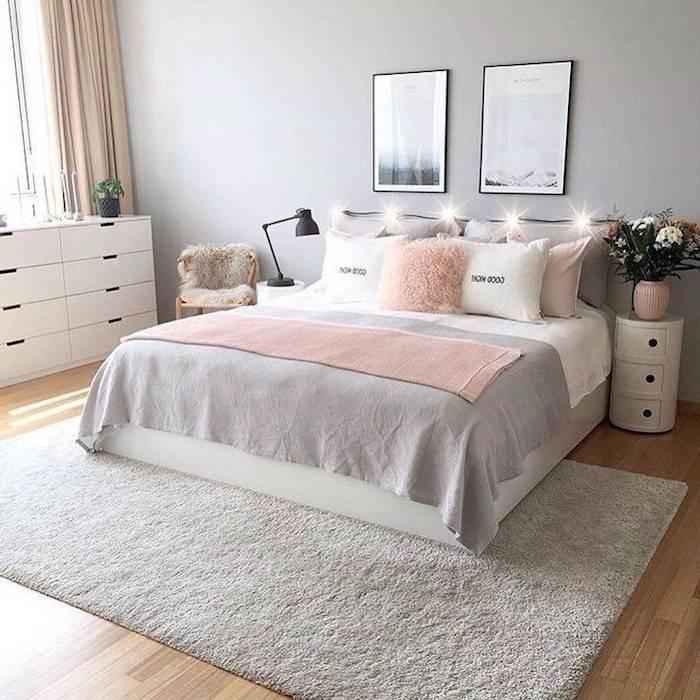 Séduisant Chambre A Coucher Style Scandinave A Propos de Intérieur Cosy De Chambre À Coucher De