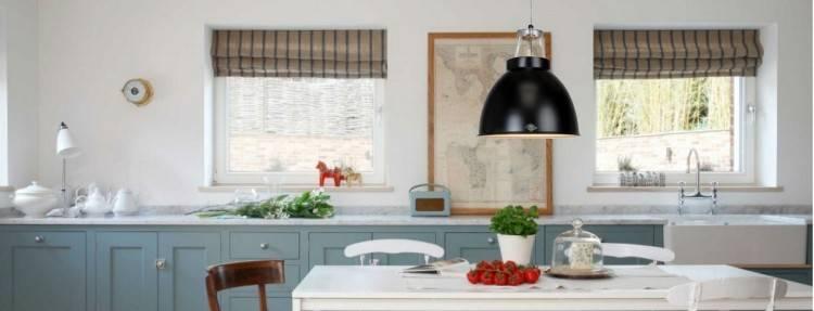 La suspension fait figure de favori pour l'éclairage de la cuisine