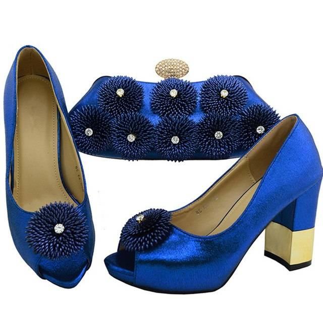 Sophistiqué Bleu Royal Bleu Suédé Unicolore Mocassin Sans Ornement