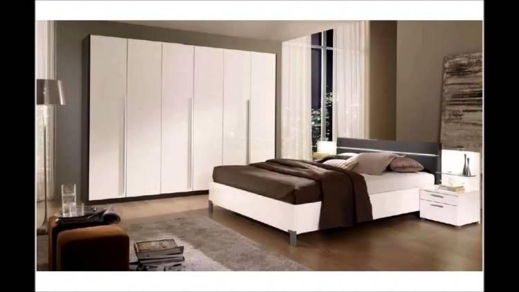 Hôtel Moderne Appartement Avec 3d Salon Et Chambre à Coucher Intérieur, Murs Blancs