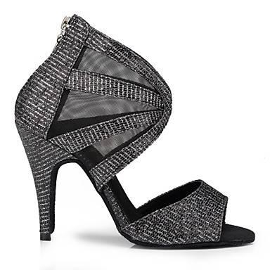 Chaussures à Talons Fantaisie Noires Brillant