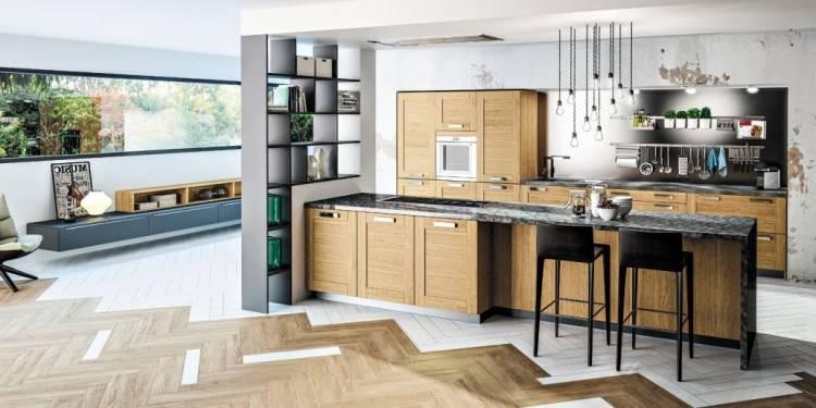 Modele De Cuisine Moderne En Bois Frais Modele Cuisine Equipee Lapeyre