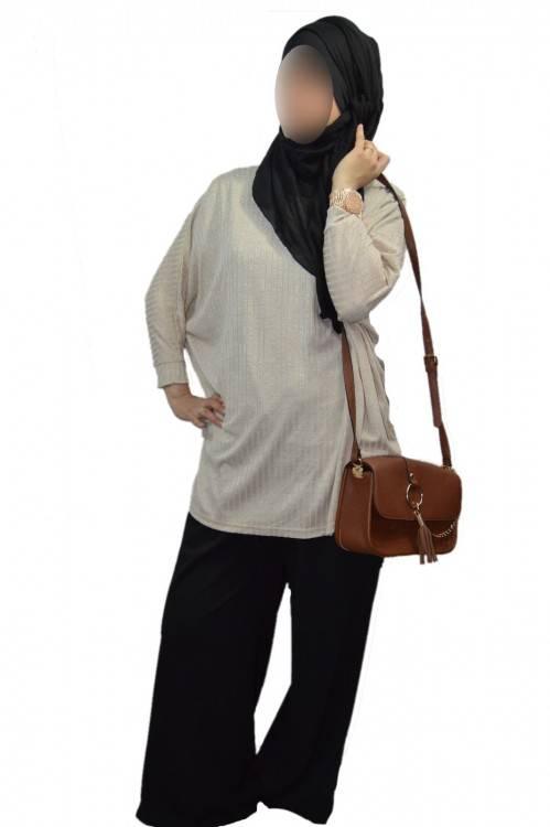 Boutique Pour Femme Musulmane Vetement Islamique Serouel Abaya Avec Robe Marina Kaki Et Jupe Longue Hijab