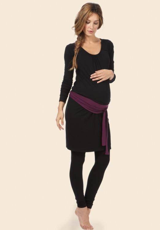DAY8 Vêtement Femme Enceinte Hiver Pas Cher a la Mode Chemise Femme Enceinte  Atuomne Haut Femme Enceinte Manche Longue Printemps Maternité T Shirt  Grossesse