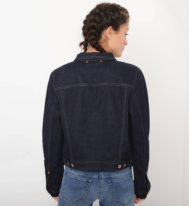 diesel veste en jean josef bleu denim mode femme vêtements vestes et manteaux,diesel vetement