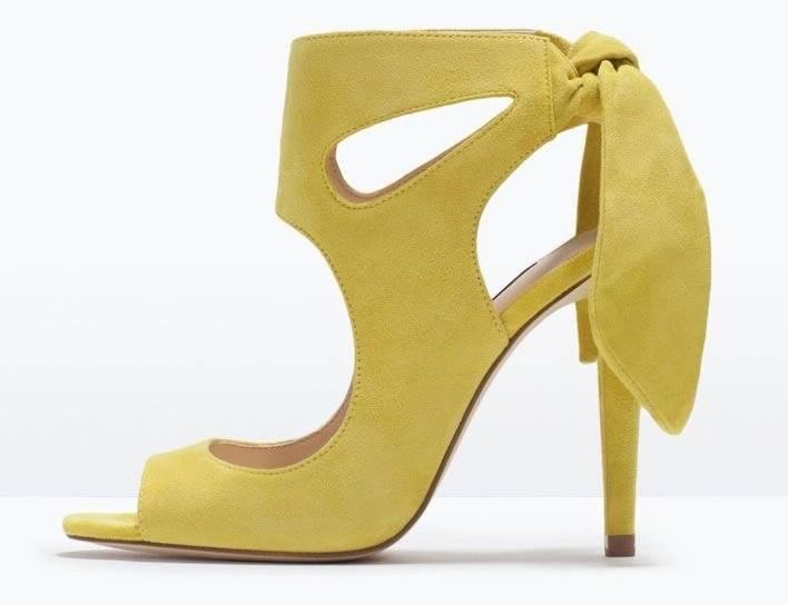 ASOS Sandales | Talons Noir France Talk Show Lacets Chaussures à talon | Daim | Bout ouvert